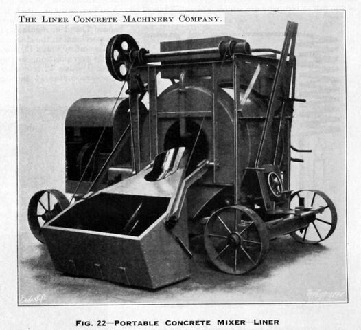 File:A 1930s LINER Portable Concrete Mixer.jpg