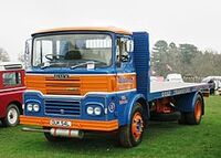 A 1970s Guy J4 Truck Diesel