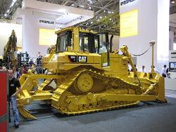 Bauma 2007 Bulldozer Caterpillar D6R