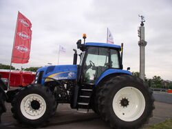 Belarus-Minsk-Agriculture Expo-New Holland TG285