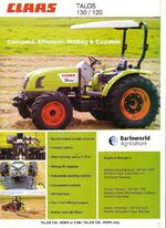 Claas Talos 130 MFWD brochure (LS)