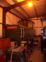 Hudswell-Clarke DM1366 of 1965