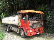 Petrol truck, Bolivia