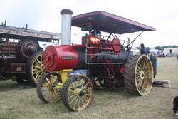 Russell Steam tractor reg BF 4379 Scorton 09 - IMG 4868