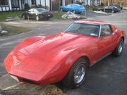 74 Chevrolet Corvette Stingray-Millie Migia Red