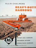 AC Disc Harrow brochure - 1953