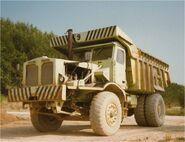 A 1960s Aveling Barford SN35 Dumptruck