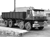 A 1970s GUY Warrior Tipperlorry