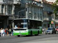 Bogdan A092.80 bus in Lviv
