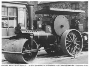 Built 1899 Allchin 10 Ton Engine No 1131 Reg No NH3416 Steam Roller owned by Northampton Council and Lamport Railway Preservation Society (1)