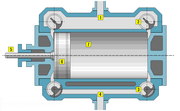Corliss cylinder section 2