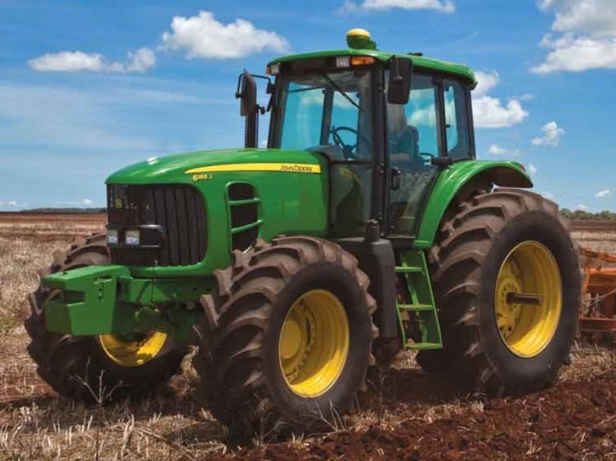 John Deere 6165 J   Tractor & Construction Plant Wiki