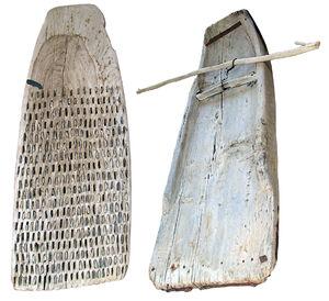 Primitive spike harrow (Arkeoloji müzesi - Alanya)