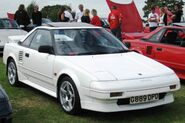 Toyota MR2 1587cc first registered January 1990