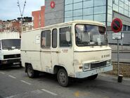 1970s EBRO D145 Van