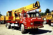 1980s Barreiros 4220 Ibesa Cranetruck