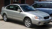 3rd Subaru Outback sedan