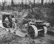 8inchHowitzerMk1BeingTowedSomme1916