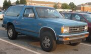 Chevrolet S-10 Blazer 2-door
