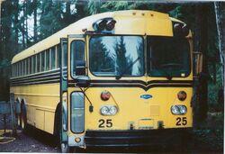 1977 Gillig 855DT-16 97-passenger school bus