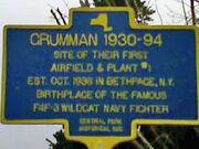 Grumman Historical Marker