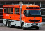 Helsinki fire truck H10