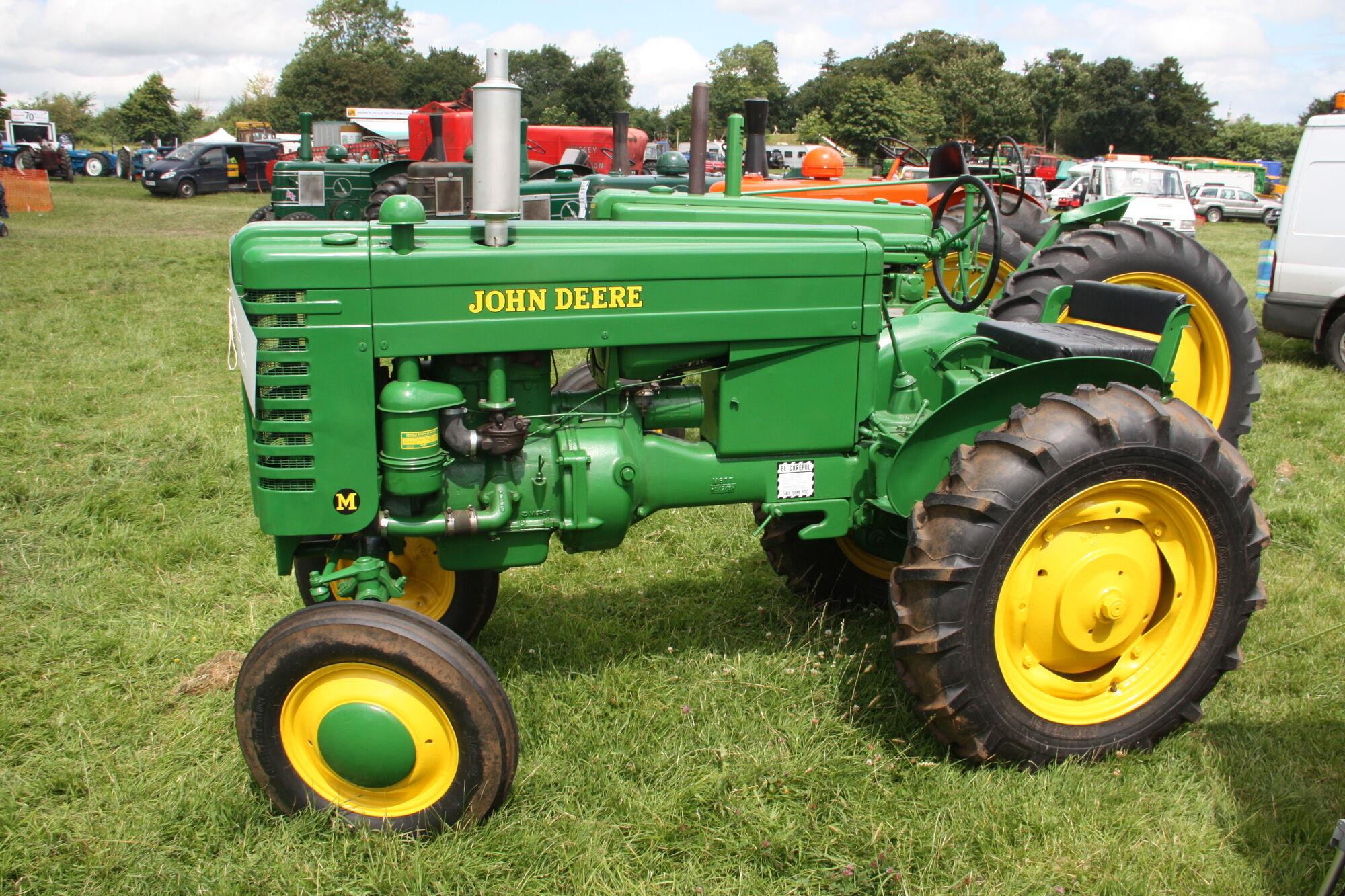 john deere model m | tractor & construction plant wiki