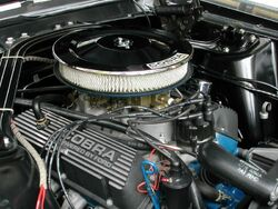 Shelby Mustang GT350 engine