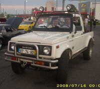 Suzuki Samurai Convertible (Orange Julep)