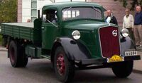 Volvo LV 192 D Truck 1940 2