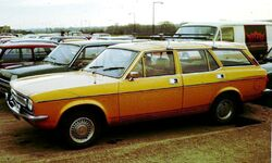 Morris Marina Estate became avaliable later in model life