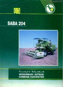 PMA SABA 204 combine - 2006