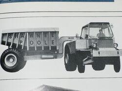 SHAWNEE-POOLE SF338 Dumptruck Diesel V8