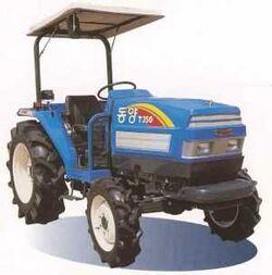 Tong Yang T350 MFWD (blue) - 2002