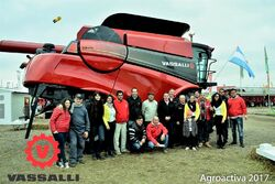 Vassalli V870 combine - 2017