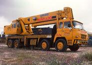 1980s Barreiros 3784 Luna Cranetruck