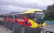 Biarticulado TransMilenio