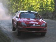 Citroën WRT testing in Finland in 2002 12