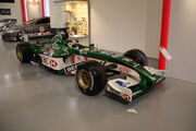 Jaguar Racing 2002 car at HMC Gaydon - IMG 3178