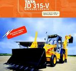 TATA - JD 315-V backhoe - 2003