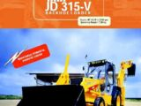 TATA - JD 315-V backhoe