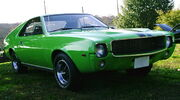 1969 AMX in Big Bad Green umf