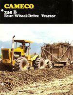 Cameco 235-B 4WD brochure