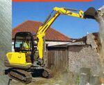 Fermec 135 excavator