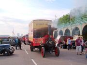 Foden 5 ton steam lorry registration WX 2682