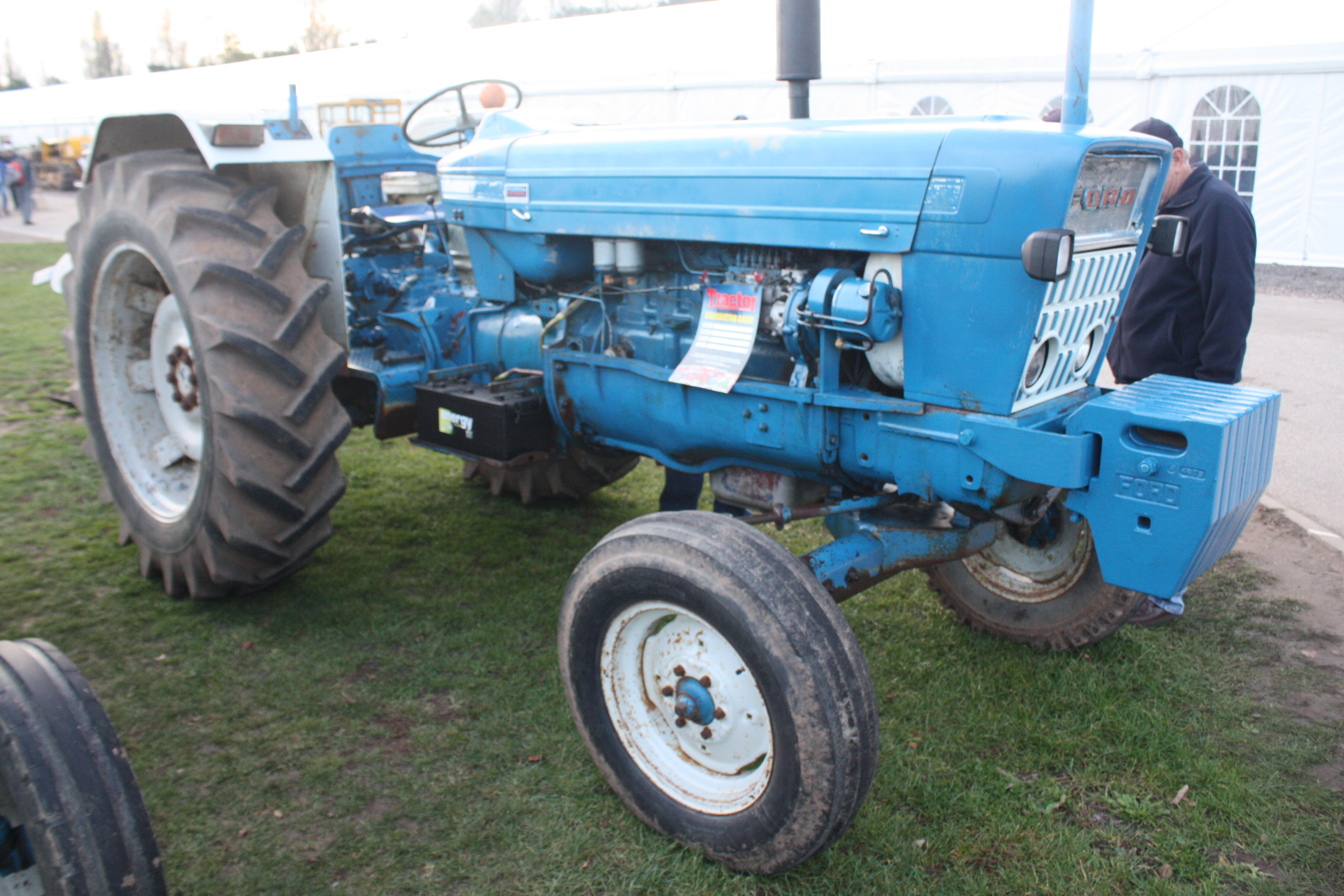 tractors walker sold com ford incl for jtpmachinery canopy is g loader great engine with used sale au tractor rops trade in liquid a gst only cooled sorry
