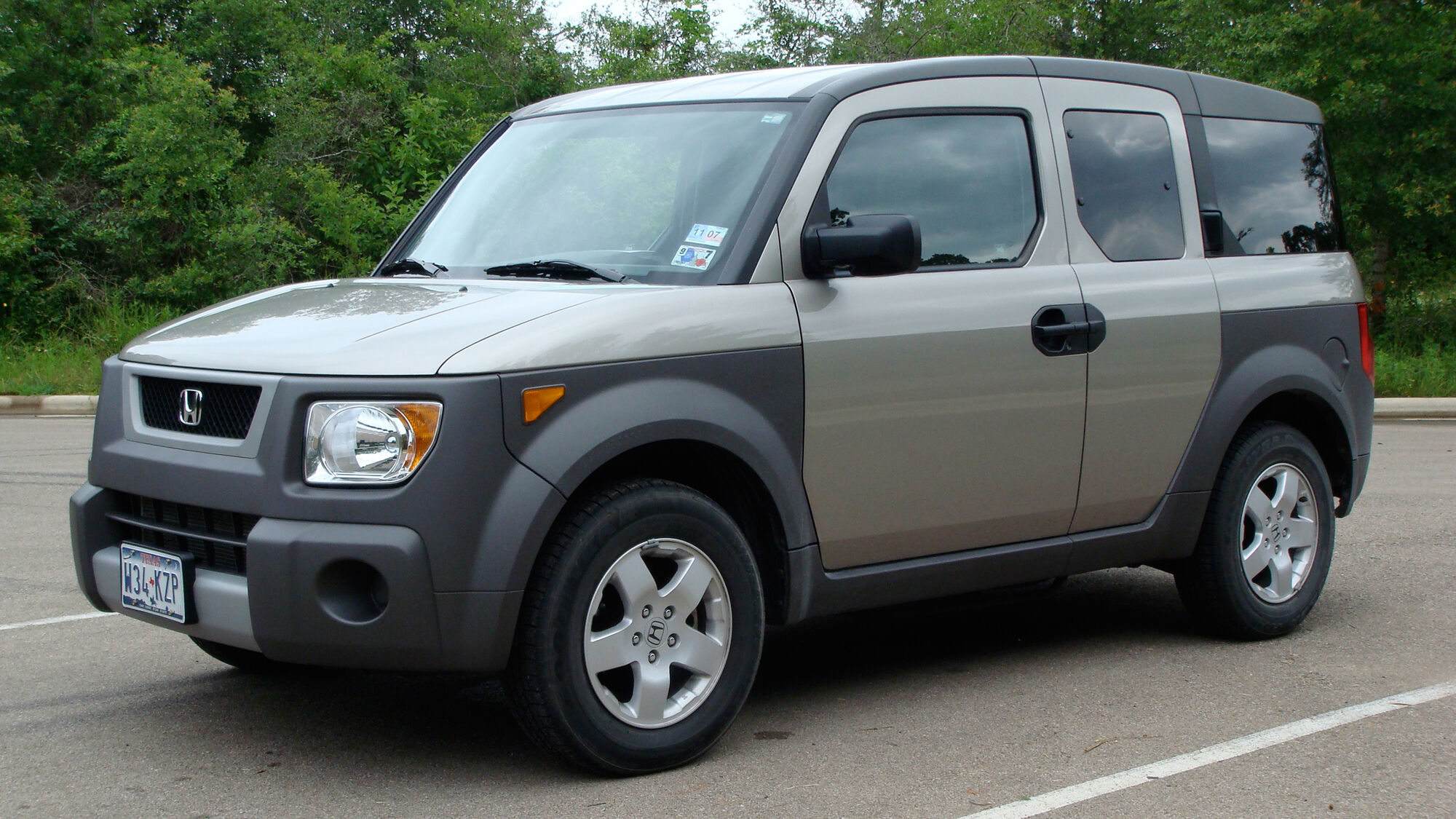 Honda Element | Tractor & Construction Plant Wiki | FANDOM powered by Wikia
