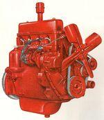 International C-123 engine Farmall 200 1955