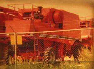 Western combine - 1990s