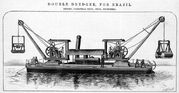 A 1890 Priestman Brothers Steam Dredger